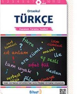 BİLTEST Ortaokul Türkçe 8 Kazanım Tarama Testleri