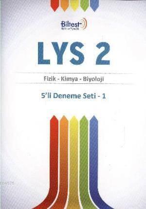 Bilfen LYS 2 Deneme Seti 5'li Fizik Kimya Biyoloji
