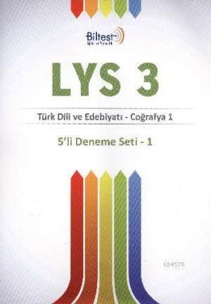 Bilfen LYS 3 Deneme Seti 5'li Türk Dili ve Edebiyatı Coğrafya 1
