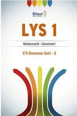 LYS 1 5'li (Matematik - Geometri) Deneme Seti 2  Zor deneme