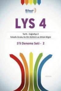 Lys 4 5'Li (Tarih-Coğrafya2- Felsefe-Din Kül. Deneme Seti 2 Zor Deneme