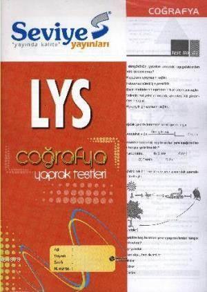 LYS Coğrafya Yaprak Test