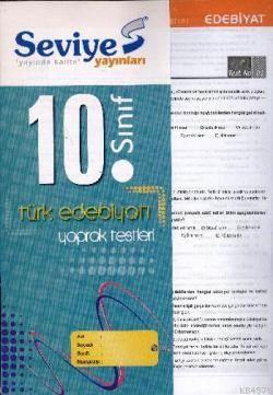 10. Sınıf Türk Edebiyatı Yaprak Test