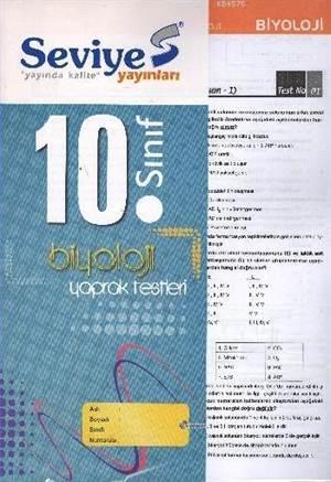 10. Sınıf Biyoloji Yaprak Test; Sayısal