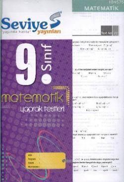 9. Sınıf Matematik Yaprak Test