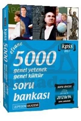 KPSS Genel Yetenek Genel Kültür Soru Bankası (5000 Soru-Cevap)