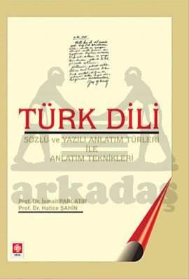 Türk Dili -Sözlü Ve Yazili Anlatim Türleri Ve Anla