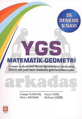 Ekin-Ygs Matematik Geometri 26 Deneme