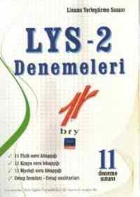 LYS 2 Denemeleri - 11 Deneme Sınavı