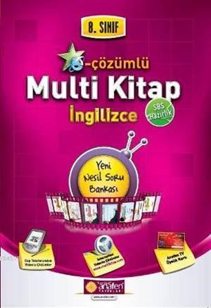 8. Sınıf E-Çözümlü Multi Kitap İngilizce