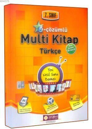 7. Sınıf E-Çözümlü Multi Kitap Türkçe Soru Bankası
