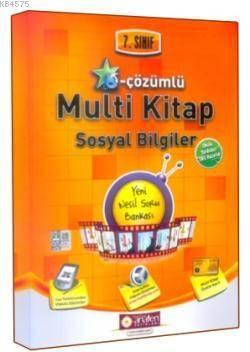 7. Sınıf E-Çözümlü Multi Kitap Sosyal Bilgiler Soru Bankası