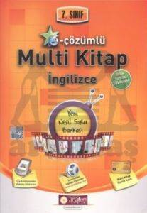 Anafen 7.Sınıf E - Çözümlü Multi Kitap İngilizce