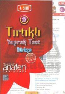 Anafen 4.Sınıf Türkçe Tırtıklı Yaprak Test (48 Yaprak)
