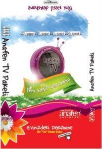 Anafen Tv Paketi- Evinizdeki Dershane