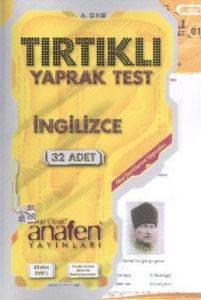Anafen6.Sinif İngilizce Tirtikli Yaprak Test (32 Yprk) Dvd Li