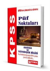 2014 KPSS Anayasa ve Vatandaşlık Bilgisi Püf Noktaları
