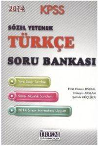 İrem KPSS Sözel Yetenek Türkçe Soru Bankası 2014