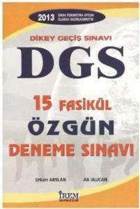 İrem DGS 15 Fasikül Özgün Deneme Sınavı (2013)