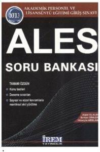 İrem ALES Soru Bankası 2013