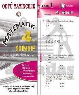 Matematik Gez. 4. Sınıf Değerlendirme Testi