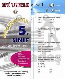 Matematik Gez. 5. Sınıf Değerlendirme Testi