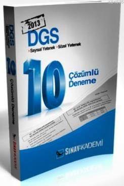 DGS 10 Çözümlü Deneme