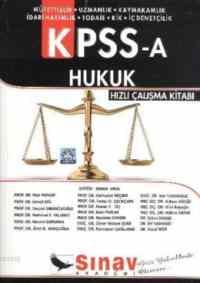 KPSS-A Hukuk Hızlı Çalışma Kitabı