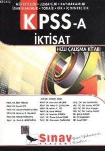KPSS-A İktisat Hızlı Çalışma Kitabı
