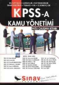 KPSS-A Kamu Yönetimi Hızlı Çalışma Kitabı