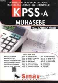 KPSS-A Muhasebe Hızlı Çalışma Kitabı
