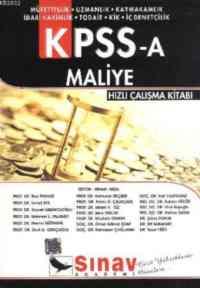 KPSS-A Maliye Hızlı Çalışma Kitabı