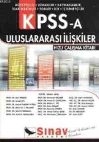 KPSS-A Uluslararası İlişkiler Hızlı Çalışma Kitabı