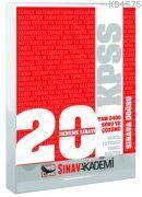 2012 KPSS 20 Çözümlü Deneme 2400 Soru