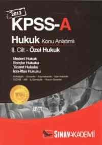 KPSS-A Hukuk Konu Anlatımlı II.Cilt (2013)