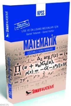 Kpss   Matematik Önlisans (Çözümlü Soru Bankası)