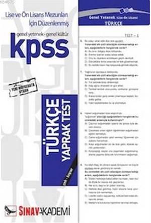 Kpss   Türkçe ( 32 Yaprak )