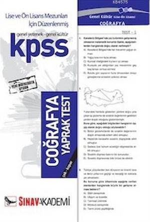 Kpss   Coğrafya ( 32 Yaprak )