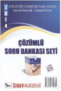 Sınav KPSS Lise ve Ön Lisans Genel Yetenek Genel Kültür Çözümlü Soru Bankası Seti 2014