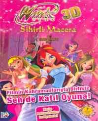 Winx Club 3D Sihirli Macera Oyun Kitabı