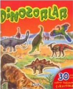Çıkartmalı Dinozorlar Dizisi Kırmızı