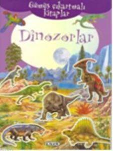 Gümüş Çıkartmalı Kitaplar Dinozorlar