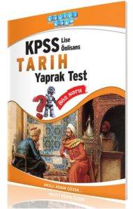 Kpss Lise-Ön Lisans Tarih Yaprak Test