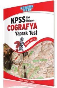 Kpss Lise-Ön Lisans Coğrafya Yaprak Test