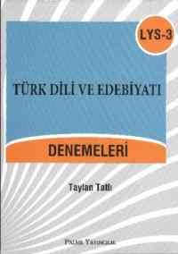 LYS-3 Türk Dili ve Edebiyatı