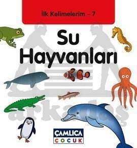 İlk Kelimelerim 7 - Su Hayvanları