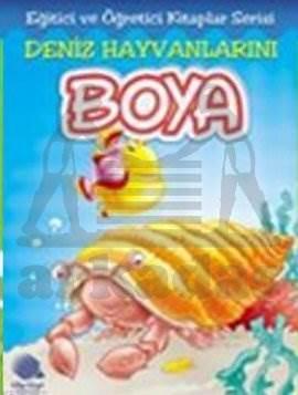 Deniz Hayvanlarini Boya