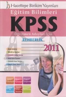 Kpss Eğitim Bilimleri Rehberlik/ 2011