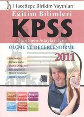 Kpss Eğitim Bilimleri Ölçme Değerlendirme/ 2011