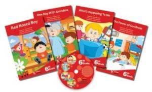 6. Sınıf İngilizce CD'li Kitaplar Serisi (4 Kitap+1 CD)